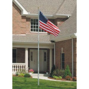 Telescoping Flagpoles and Wall Mount Flagpoles from Falls