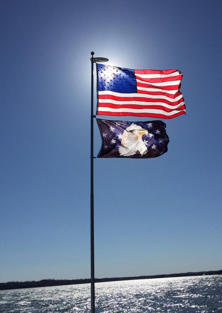 20' The Original Telescoping Flagpoles
